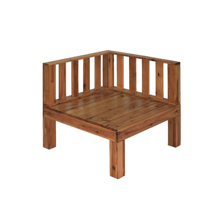 Corner Fence Module Ecquality Timber