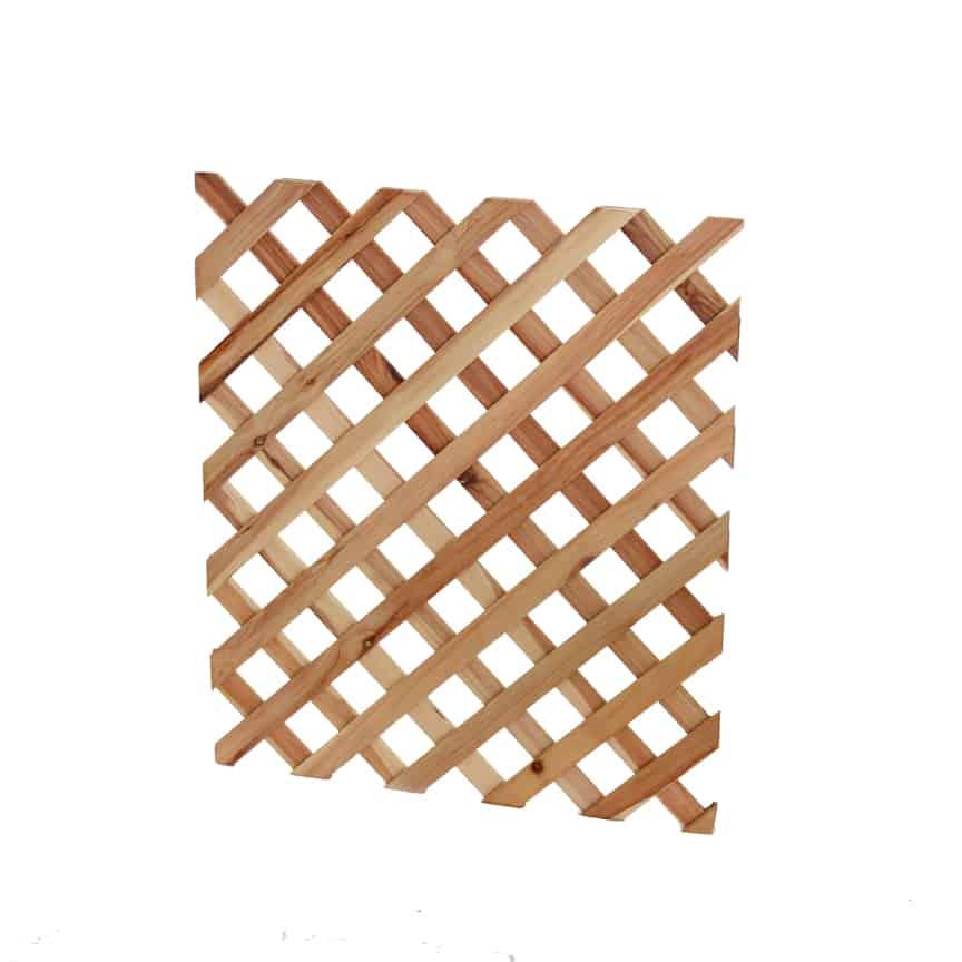 Lattice panels without frame (short)